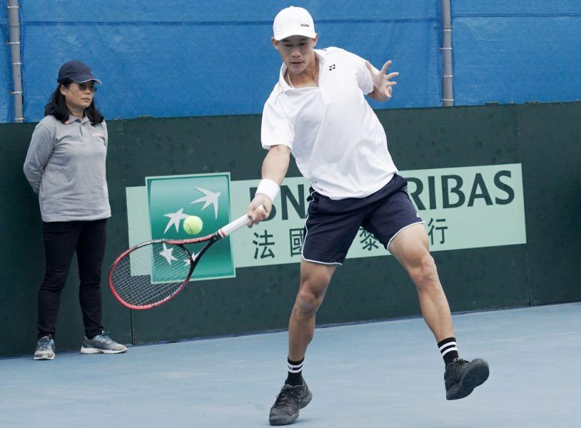 莊吉生延續在網球中心不敗神話。海碩整合行銷提供