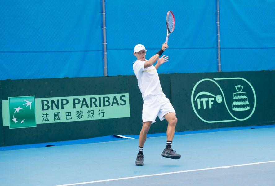 莊吉生身負重任。網球協會提供