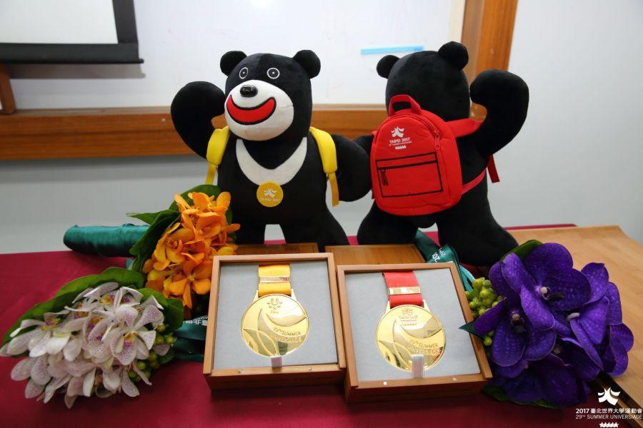 世大運頒獎物全覽。台北世大運組委會提供