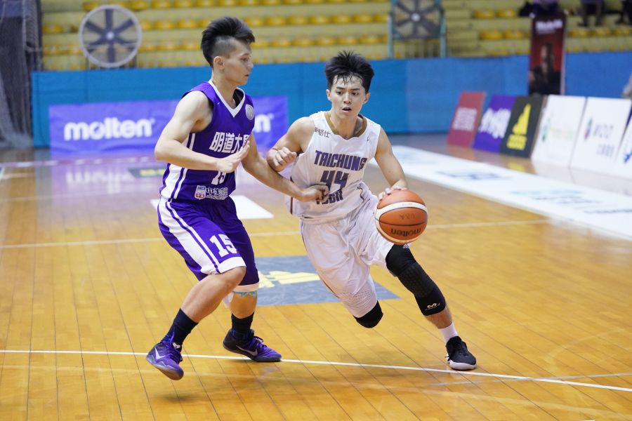 中科何俞慶飆本季及生涯最高的26分。