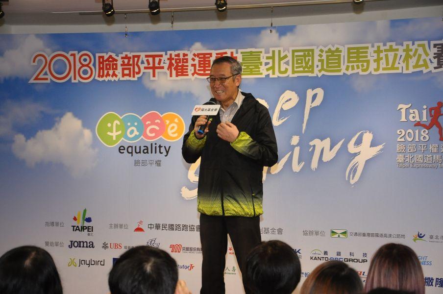 中華民國路跑協會理事長曹爾忠。圖/公關提供