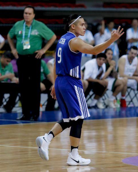 中華隊主控球後衛陳盈駿拿下22分6籃板7助攻,表現相當精彩。台北世大運組委會提供