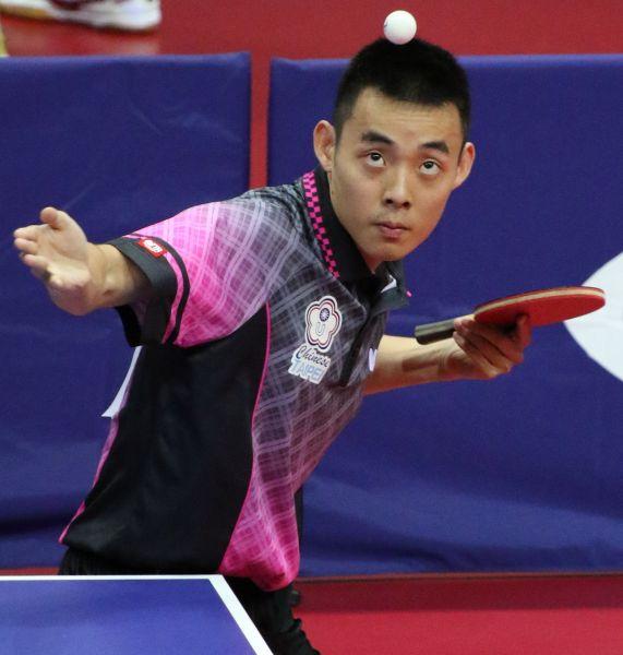 中華隊陳建安認為自己首日比賽狀況漸入佳境。台北世大運組委會提供