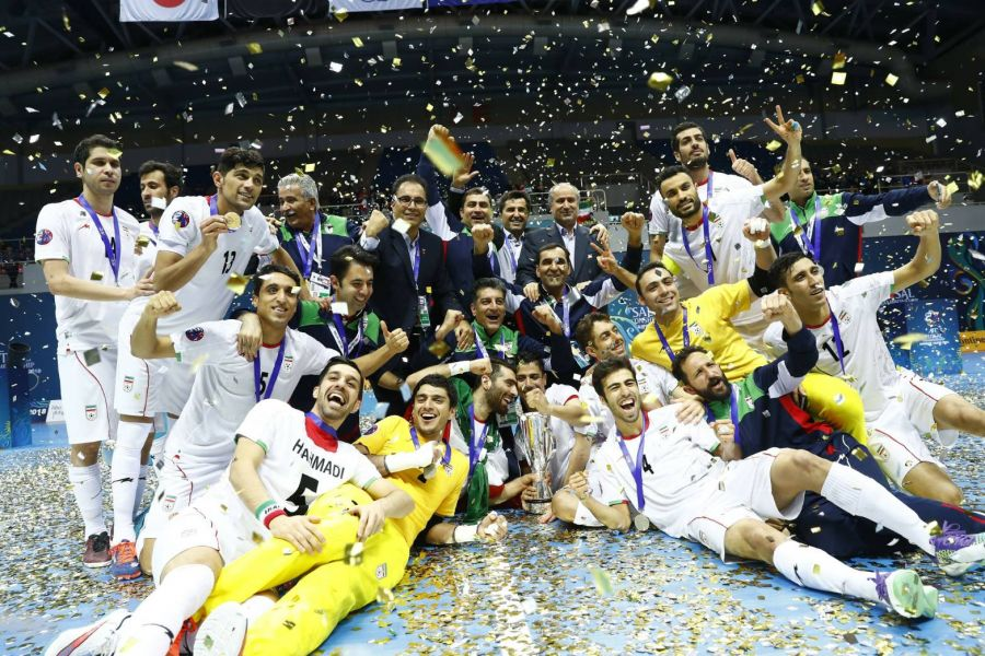 伊朗5人制足球實力幾乎灰人能敵。亞足聯提供
