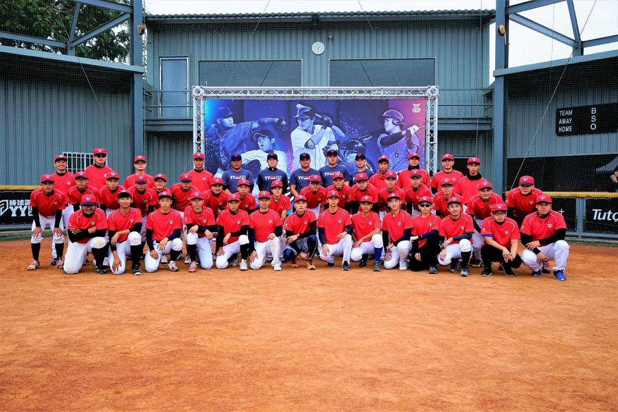 「YY Baseball Camp」打造中華隊等級投捕棒球訓練營。圖/主辦單位提供
