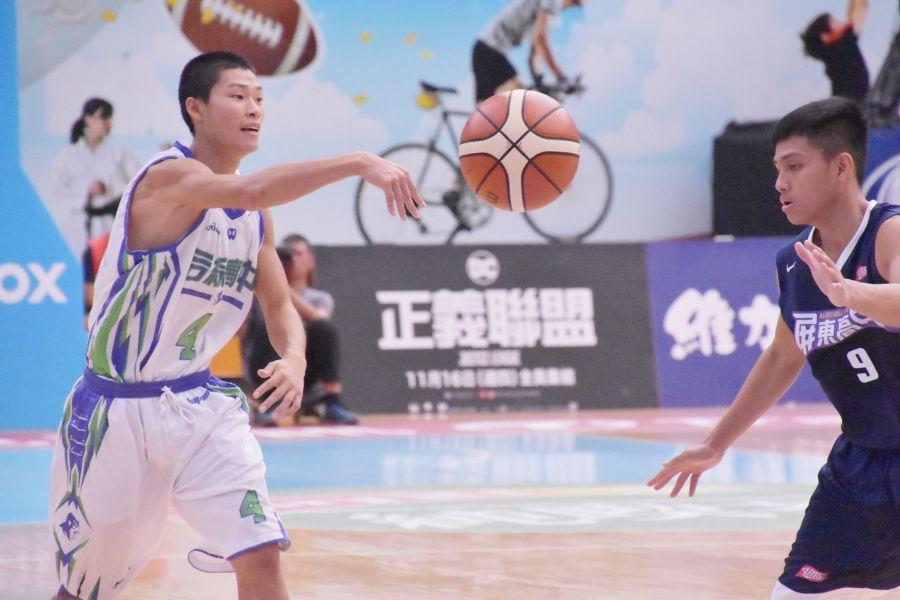 后綜林靖凱被教練喻為本季頂尖控衛。