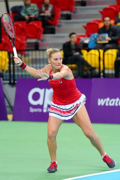 芭波斯單雙打都有不錯的成績。WTA臺灣公開賽大會提供