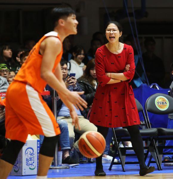 國體大代班女教練馬怡鴻的首勝得再等等。