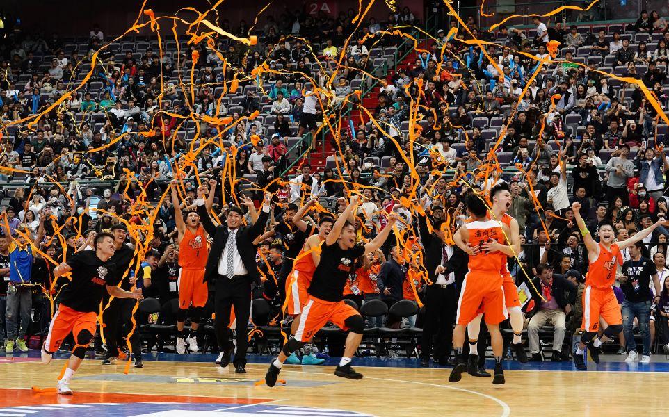國體大隊史第一冠。
