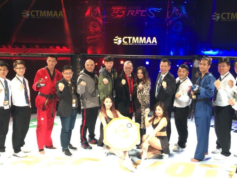 台北市跆拳道協會宣布於7月8日正式舉辦RFC「武跆王」職業跆拳道大中華區爭霸賽。圖/臺北市立跆拳道協會提供