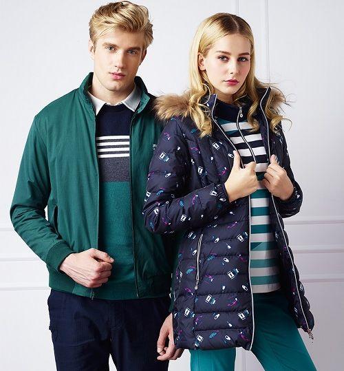 哈靈頓夾克的合身簡約設計,穿搭更顯英倫雅痞紳士感。