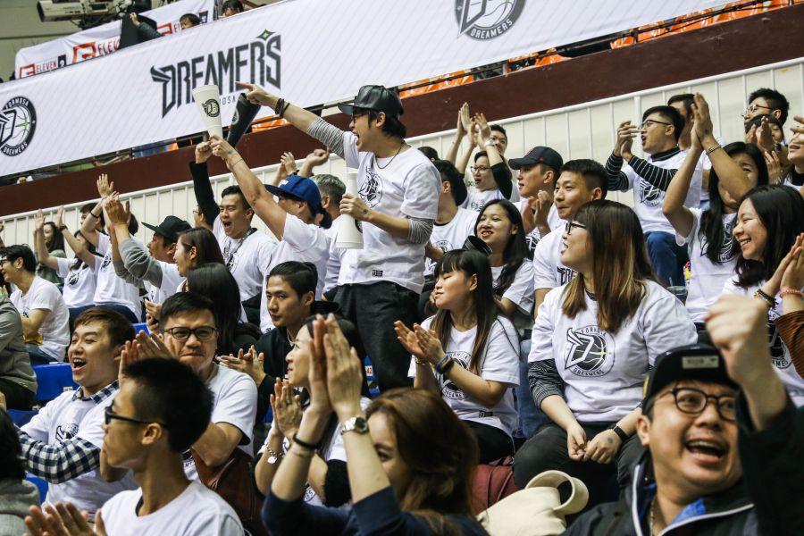 寶島夢想家的主場吸引不少球迷進場。大會提供