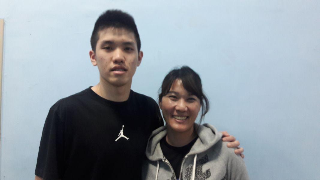 幫爸爸教練林正明拿到第一冠後,林庭謙也希望可替老媽劉靜明將率能仁女籃尋求HBL乙級。