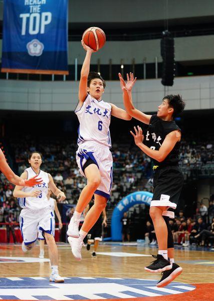 文化陳薇安生涯 第二個冠軍賽MVP入袋。