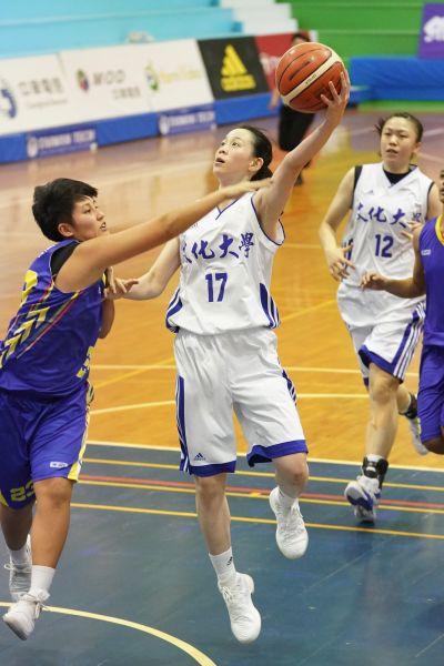 文化黃鈴娟惜丟得分后,但準冠軍賽MVP。