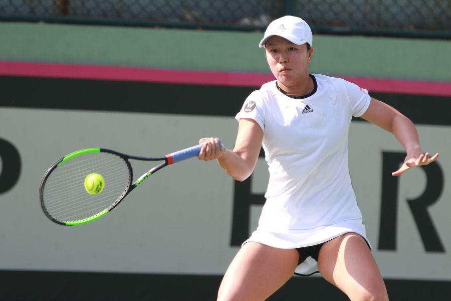 李亞軒在女單也有獎牌希望。台北世大運執委會提供