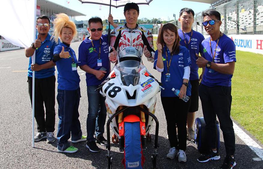 林家豪自費參加ARRC賽事,希望能將更多的經驗與技巧帶回台灣做傳承。【照片來源:Alex Lee / 林家豪】