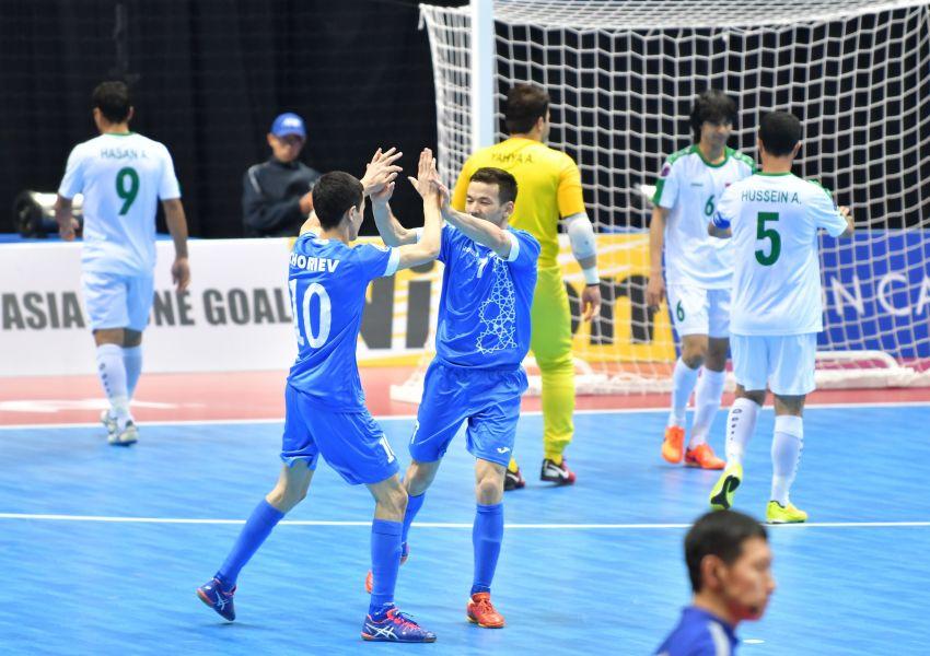 烏茲別克靠著PK才拿下季軍。亞足聯提供