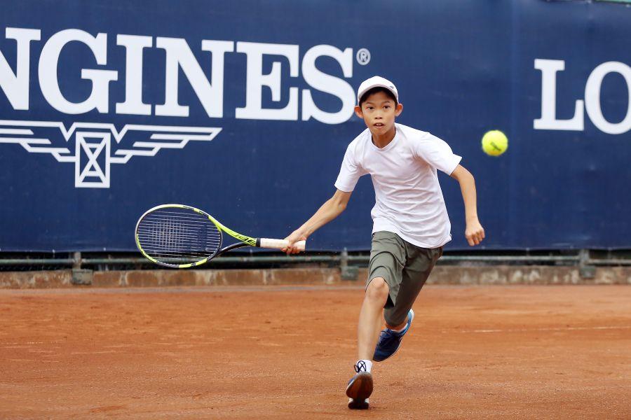 網球小將楊昕昱將代表台灣出征國際殿堂。
