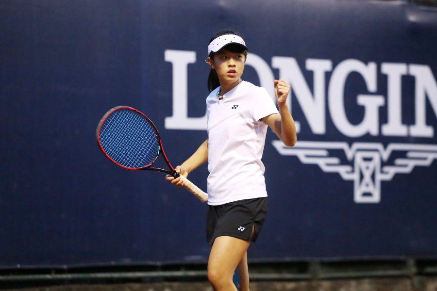 網球小將黃僅婷將代表台灣出征國際殿堂。浪琴表提供