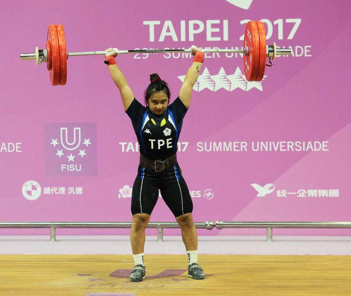 江念欣最終以總和223公斤再奪1面銅牌。圖/李天助攝