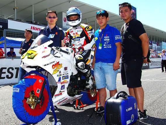 許咏傑與車隊以台灣本土的陣容與改裝部品挑戰ARRC 250組,是全方位的挑戰。【照片來源:Kenji Kurahara】