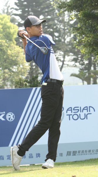 許閎軒。圖/中華民國高爾夫協會提供