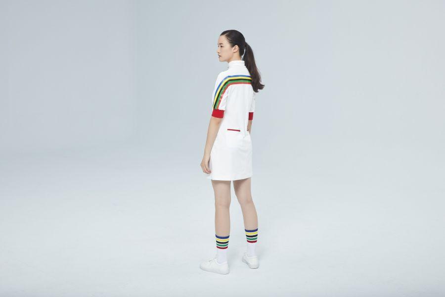 賽事禮儀人員服裝。台北世大運執委會提供