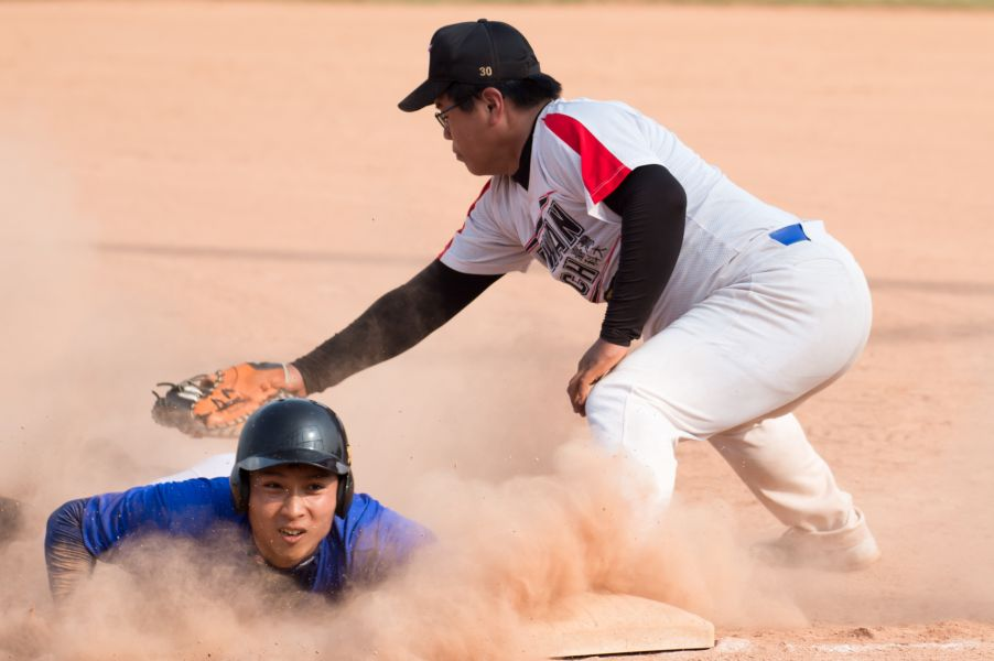 首屆大專棒球系際盃8強_文化大氣與台科機械。