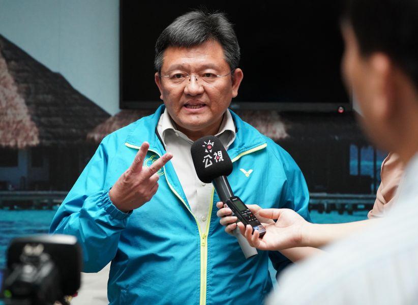 體育署副署長林哲宏。李天助攝