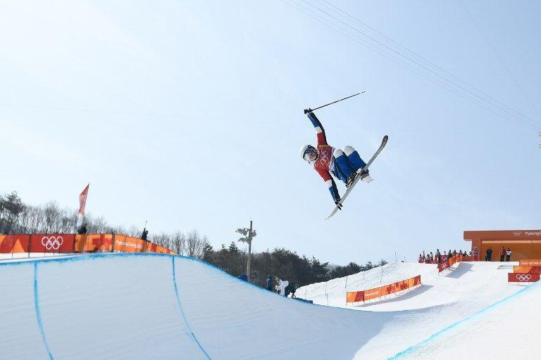 自由式滑雪的難度相當高。法新社