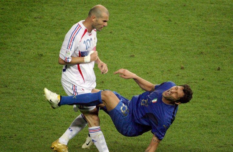 席丹在2006年世界盃頭槌事件後退休。法新社