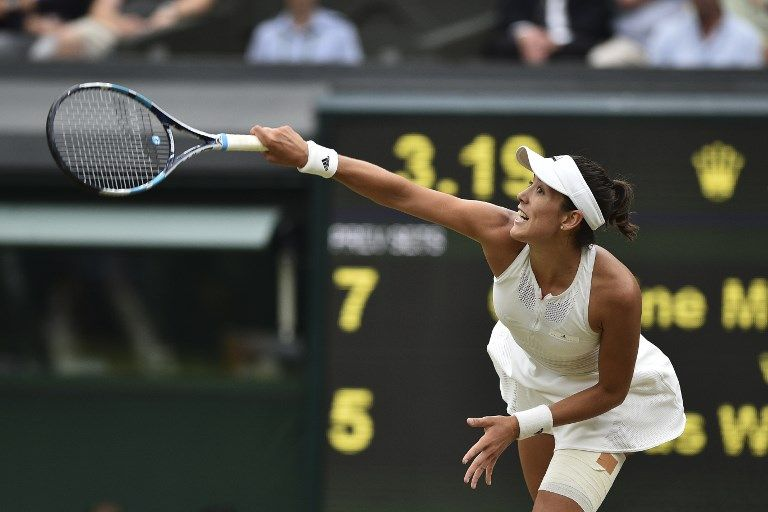 穆古魯莎奪下第二個大滿貫賽冠軍。法新社