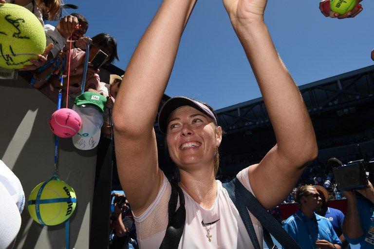 夏娃在澳網有一冠三亞成績。法新社