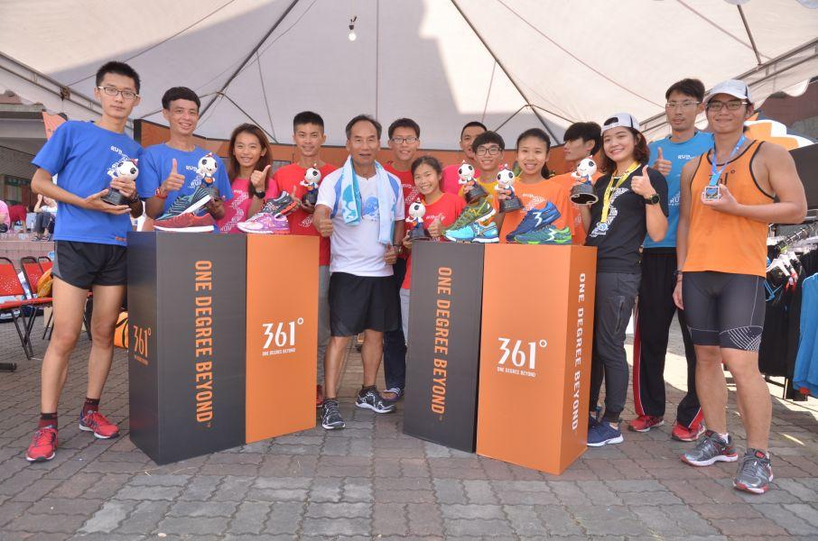 361°連續贊助彰化在地的二水馬拉松第二年,本年也特別推出活動,要贈送一票難求的二水馬拉松名額。圖/ 361°提供