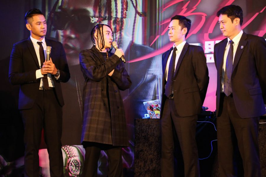 嘻哈金童BCW為寶島夢想家籃球隊量身訂做球隊主題曲「天生贏家」。圖/寶島夢想家提供