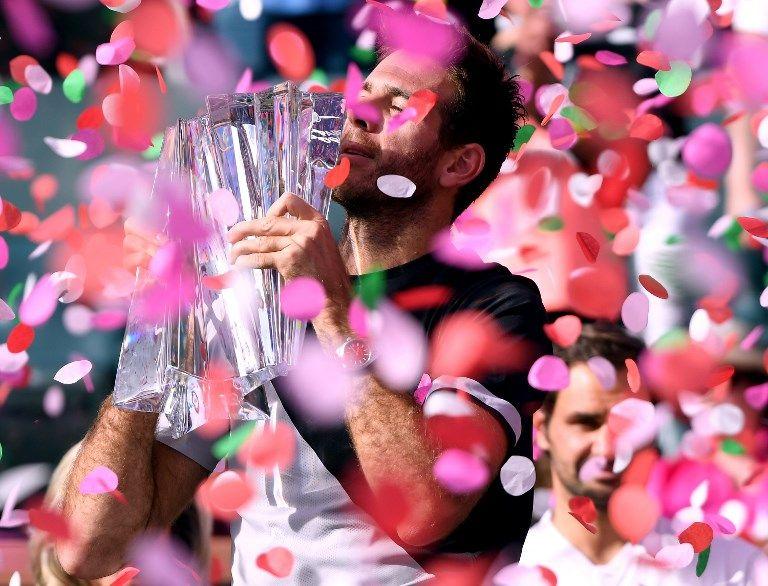 狄波特洛終於拿下大師賽冠軍。法新社