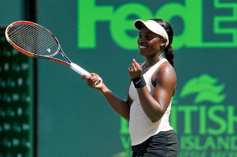 史蒂芬絲去年美網冠軍後一度陷入8連敗。法新社