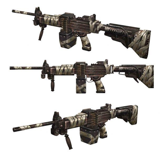 體驗新地圖「驚爆摩天樓」 就能獲得的「戰鬥型內蓋夫輕機槍NG7」