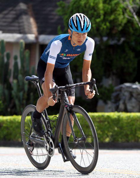 華豐隊范永奕是去年台灣登山王國內第一。中華民國自行車騎士協會/提供。