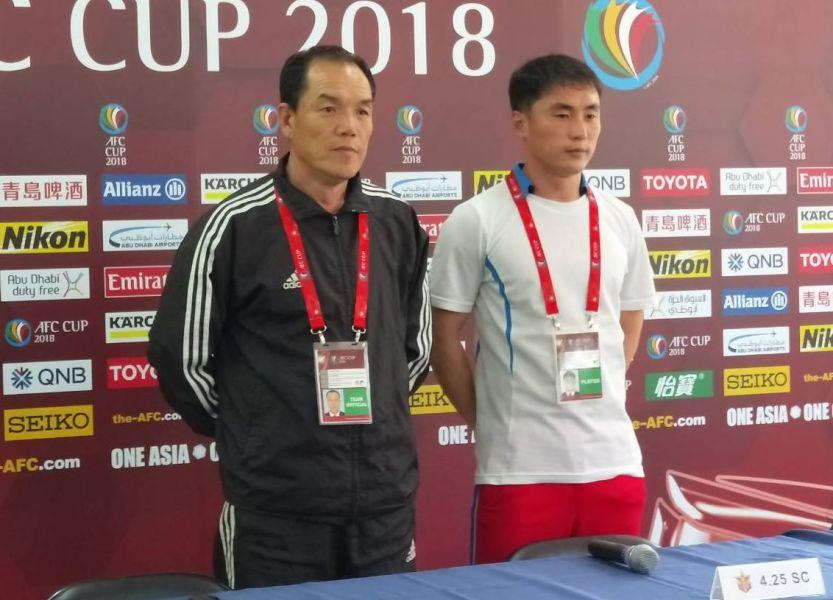 神祕的北韓4.25隊。中華民國足球協會提供