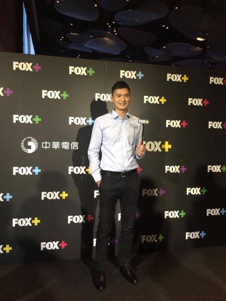 大使陳子威站台力挺。Fox提供