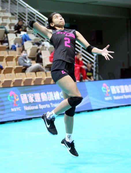 艾萊莎此役結束後將返國打菲律賓聯賽。林嘉欣/攝影。
