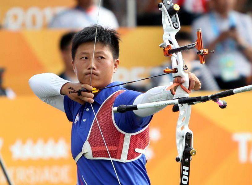 雷千瑩錯失銅牌。林嘉欣/攝影。