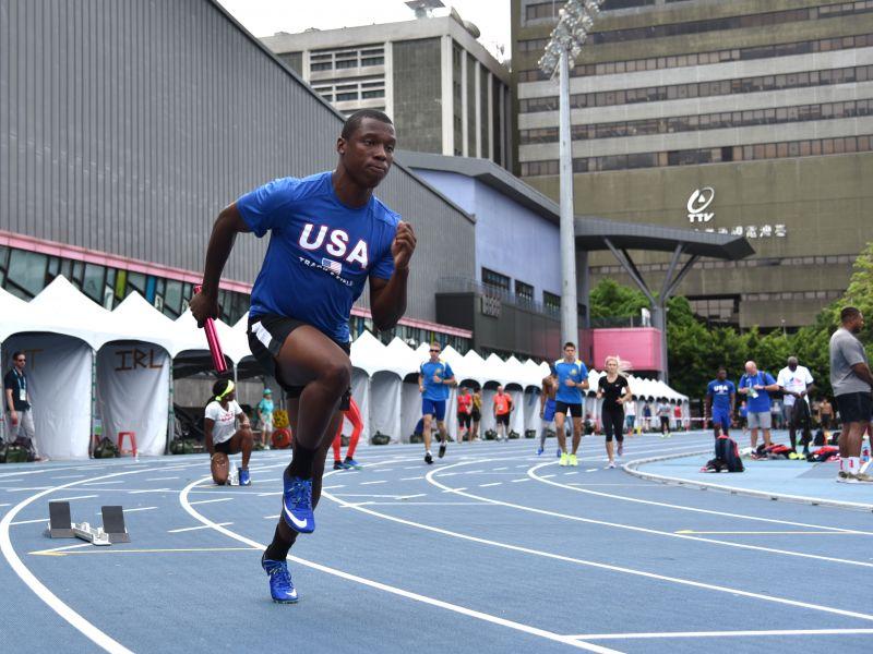 美國田徑隊這次瞄準田徑場上十面獎牌。圖/2017世大運組委會提供