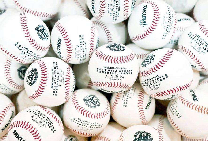 中職將在打擊營舉辦期間,將二軍比賽用球及冬盟比賽用球,捐贈給國內20所國小、國中、高中棒球隊練球使用。圖/中職提供