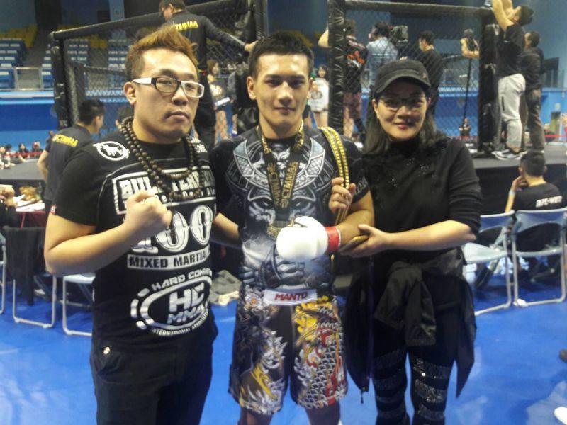 青柳克明最感謝教練和媽媽的支持。楊勝凱攝