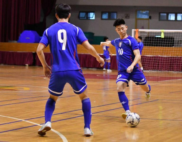 中華男足大將紀聖琺。中華民國足球協會提供