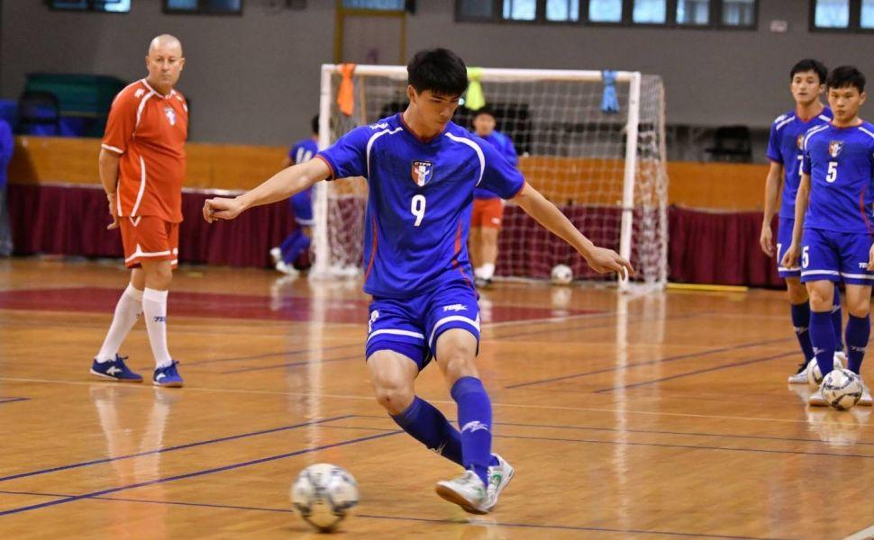 男足球員林志紘。中華民國足球協會提供