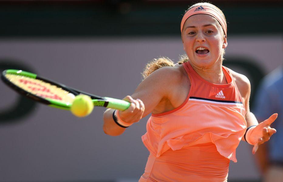 去年法網女單冠軍奧絲塔潘科卻在今年法網首輪出局。法新社